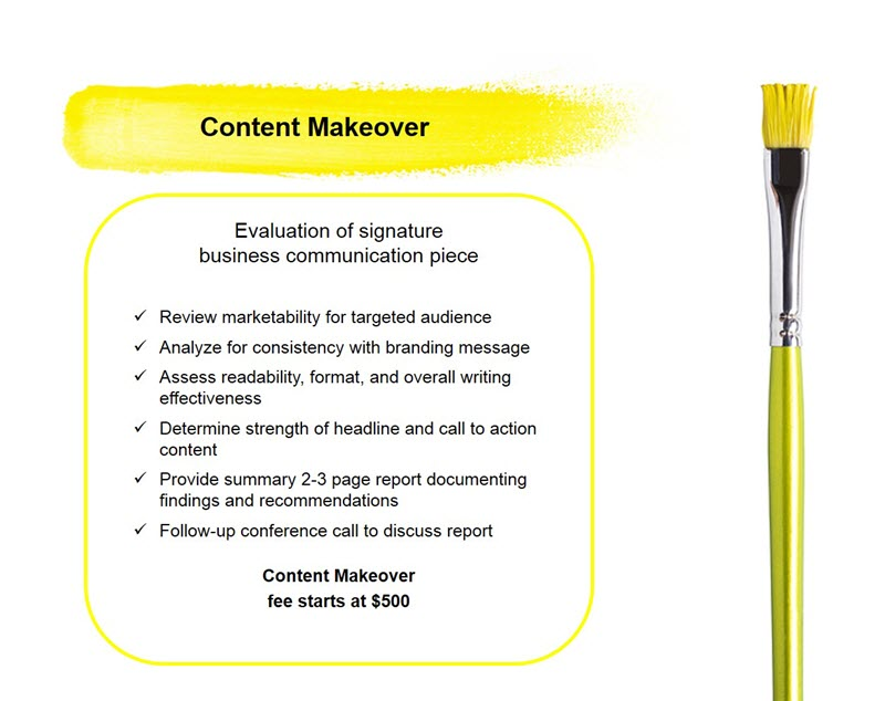 Content Makeover
