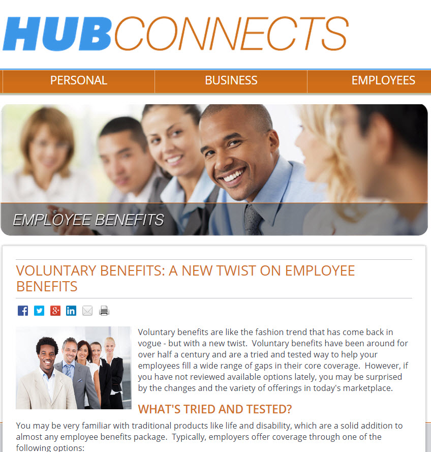 Voluntary Benefits: A New Twist on Employee Benefits